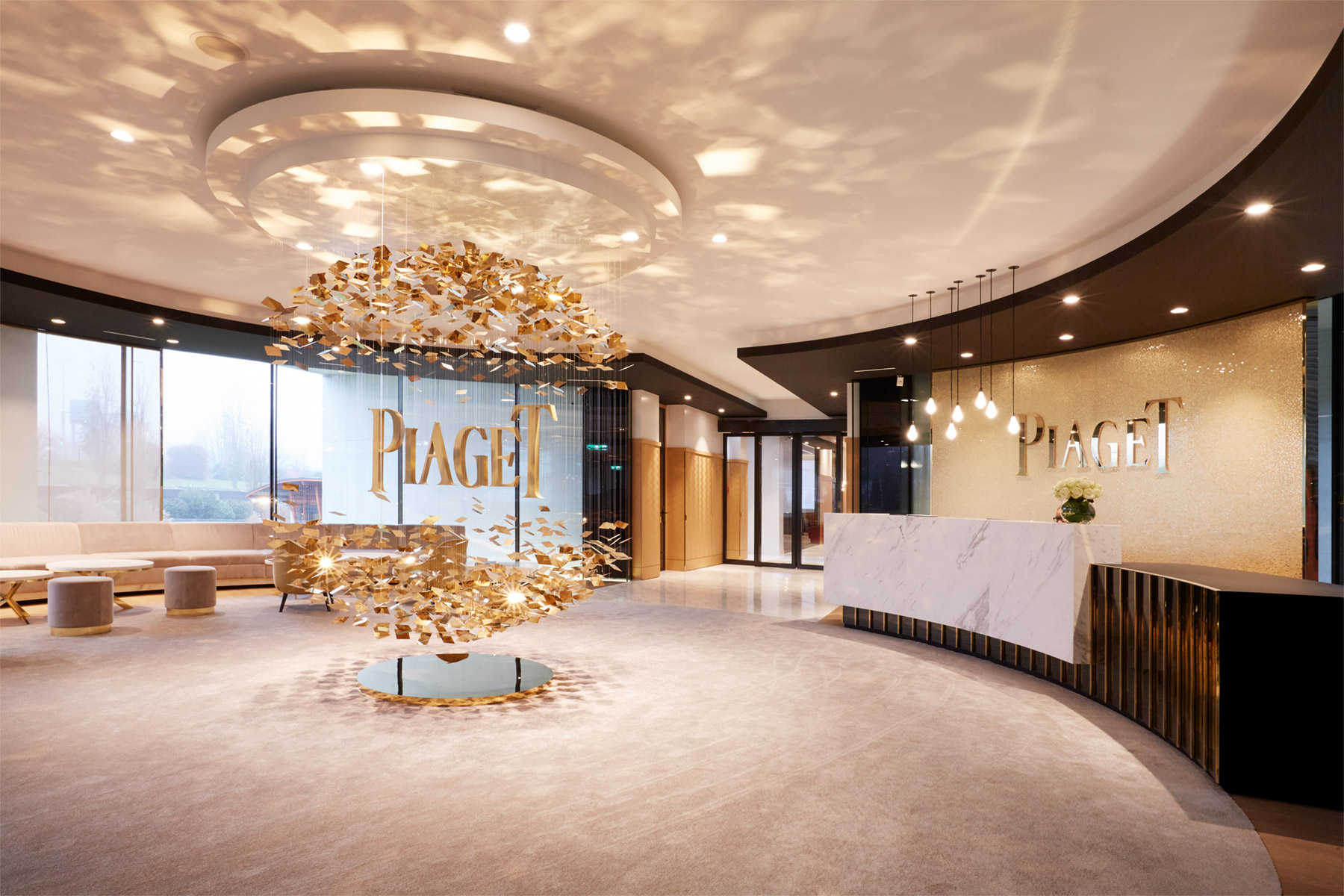 manufacture Piaget architecture Maud Guye-Vuilleme - Reception